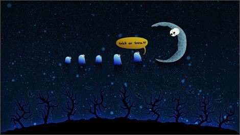 луна, moon