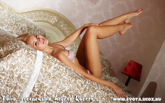 Talia блондинка фотомодель