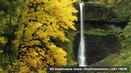 Водопады обои